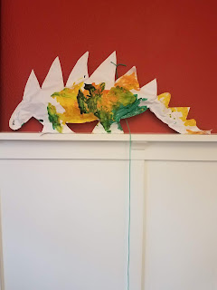 Dinosaur Preschool Art Project