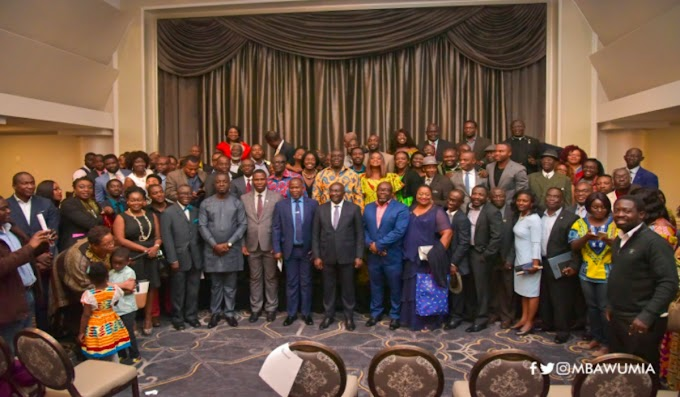 Ghana Is On The Rise Again – VP Bawumia To Diasporans