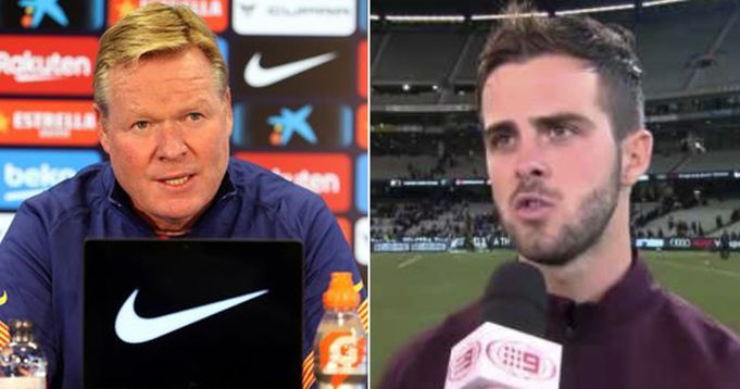Pjanic: 'Koeman didn't respect me. He was never talking to me'