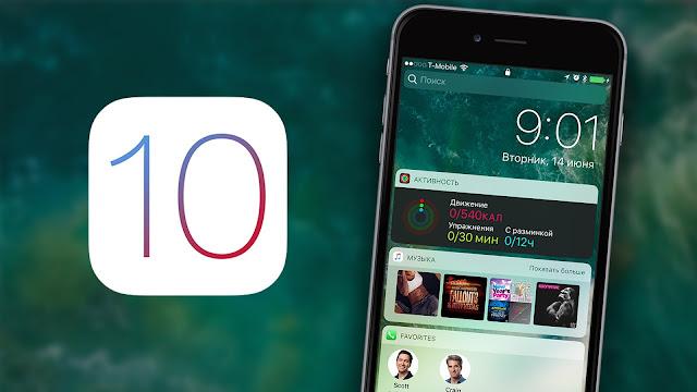 Cơ chế mở khoá màn hình iOS 10