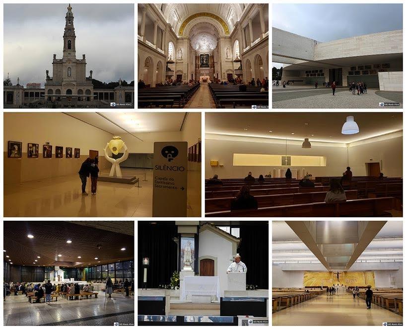 Complexo do Santuário de Fátima - Diário de Bordo: Fátima, Óbidos e Nazaré