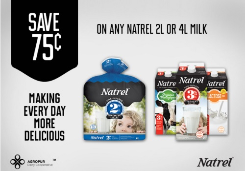 Save.ca Natrel Milk Coupon