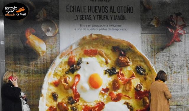 Aprende español callejeando por Madrid: Échale guindas al pavo