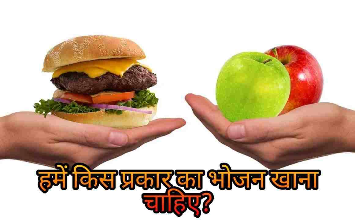 हमें किस प्रकार का भोजन खाना चाहिए?