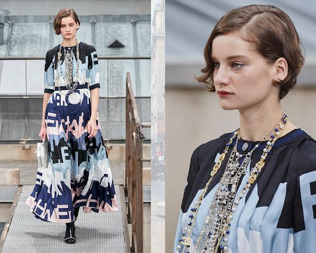 Chanel показ моды весна-лето 2020 12