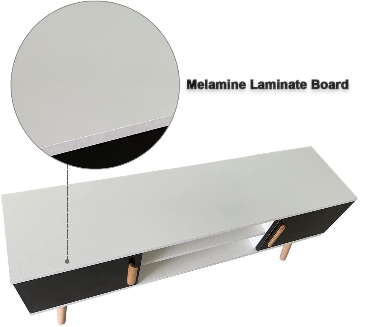 Best DIY Melamine laminating board for wooden cabinet with sholves design ideas