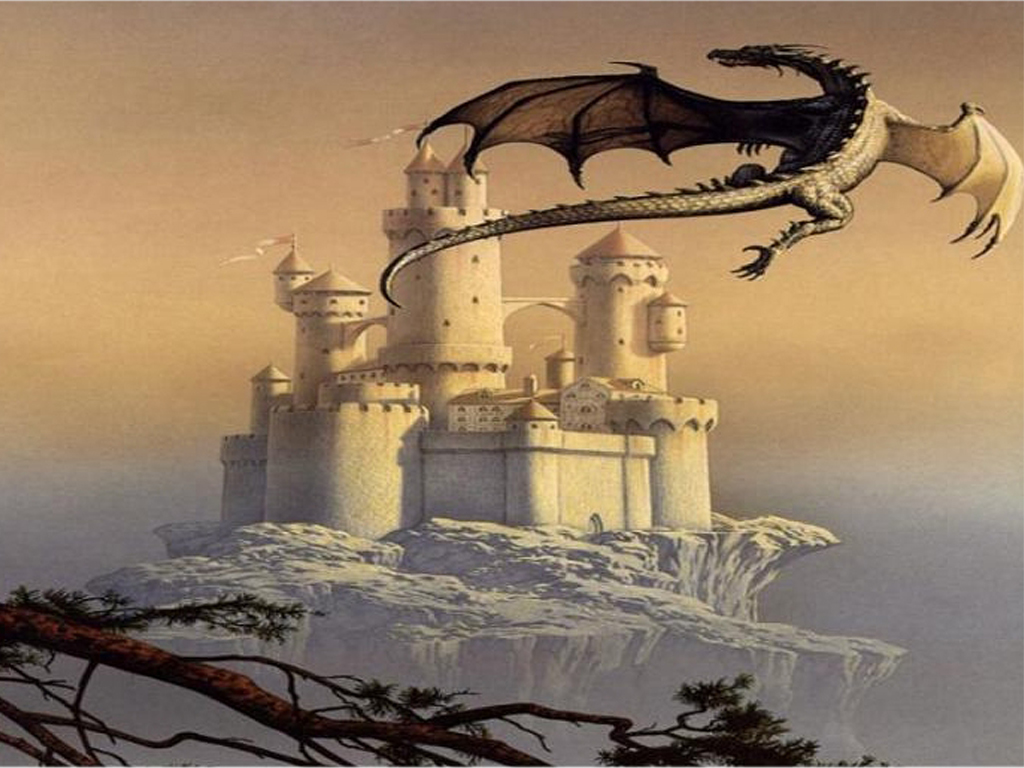 Dragon Castle Wallpapers