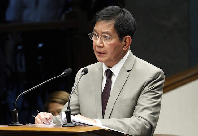 "Lacson's controversial ""tara list"" of alleged customs bribe givers and collectors"