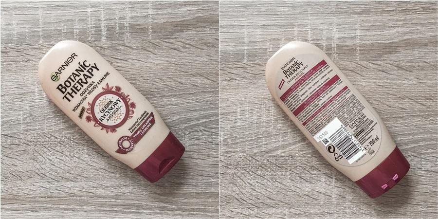 Garnier Botanic Therapy olejek rycynowy i migdał odżywka wzmacniająca do włosów łamliwych