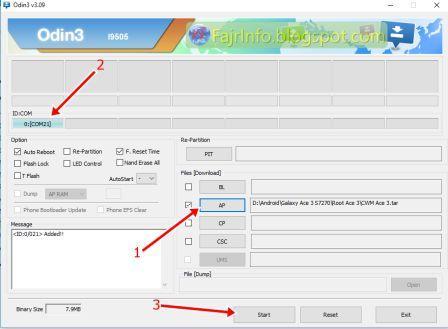 Cara Root dan Pasang CWM Pada Galaxy Ace 3 S7270 PERMANEN