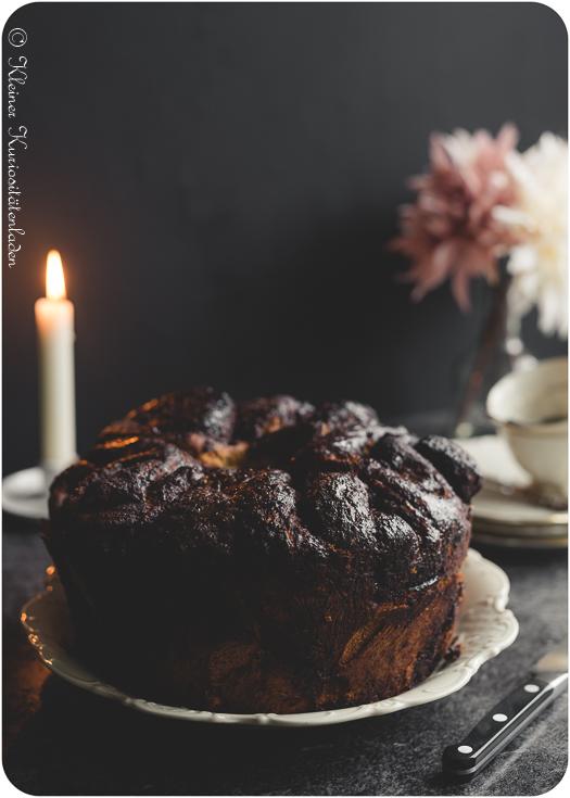 Schokoladen-Brioche-Babka