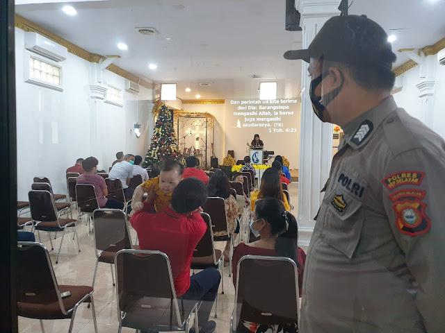 Polres Kepulauan Selayar dan Kodim 1415 Gelar Pengamanan di Rumah Ibadah
