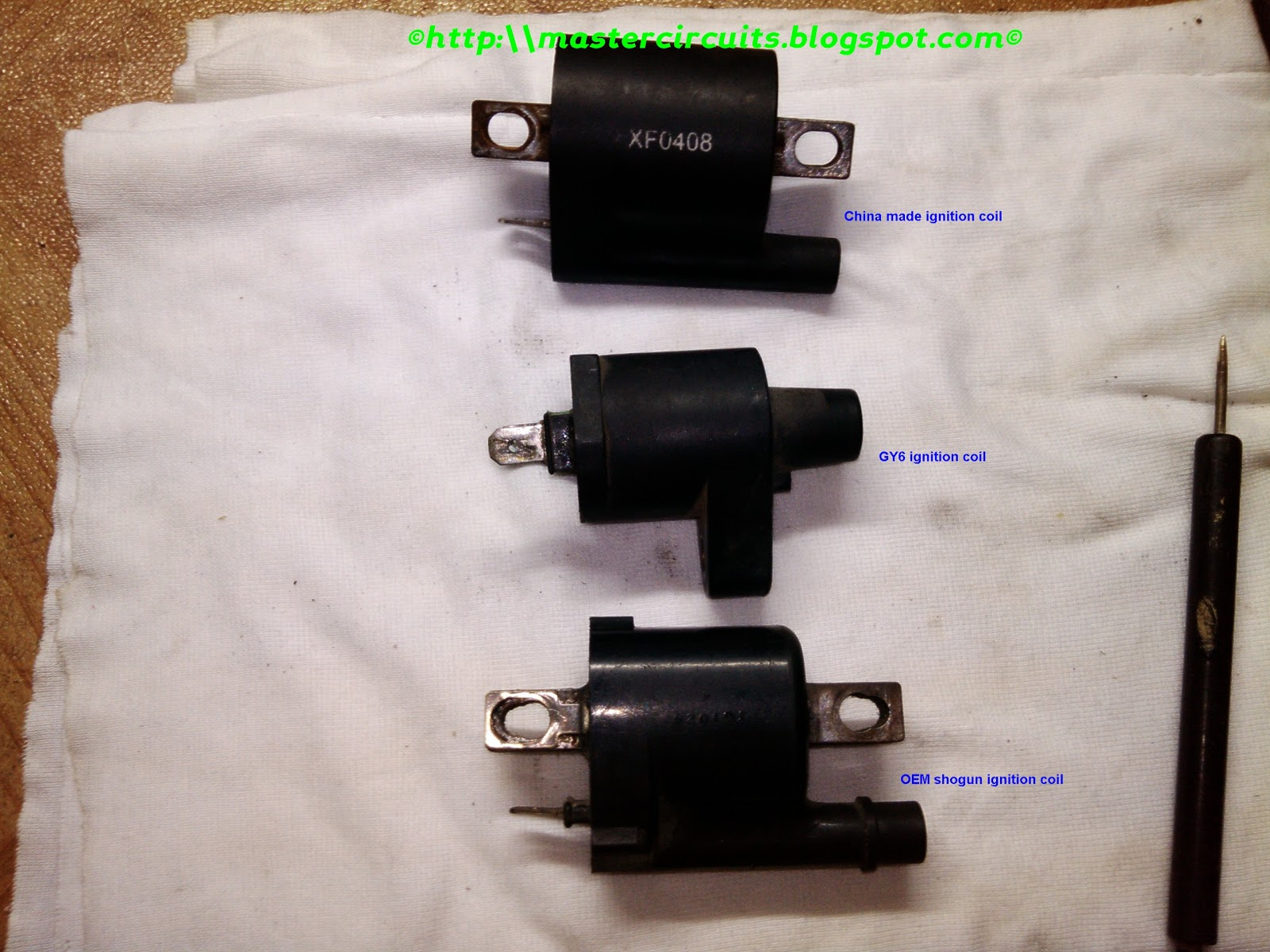 Testing Motorcycle CDI Ignition Coil | Techy at day, Blogger at noon