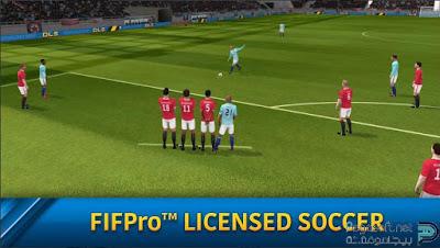 تحميل لعبة dream league soccer للموبايل