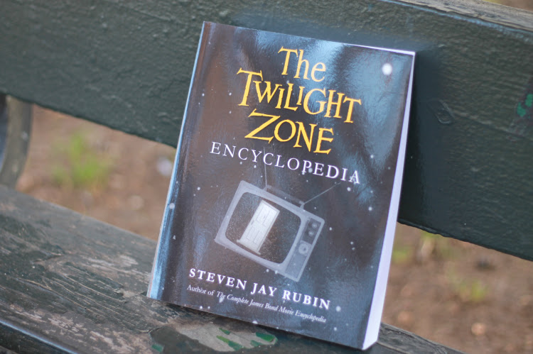 A Vintage Nerd, Twilight Book Review, The Twilight Zone Encyclopedia, Rod Serling Book