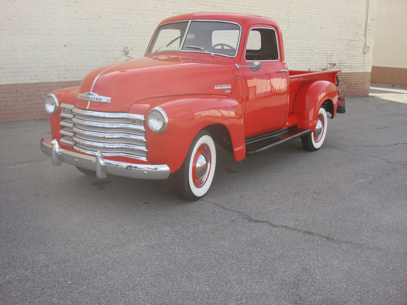 All American Classic Cars: 1950 Chevrolet 3100 Pickup Truck1950 Chevy Pickup Engine