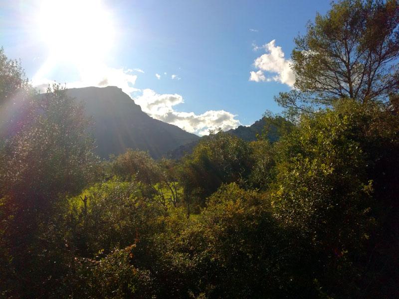 Foto: Ai piedi di Coll de Femenia
