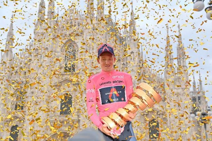 Giro d'Italia: trionfa l'inglese Tao Geoghegan Hart