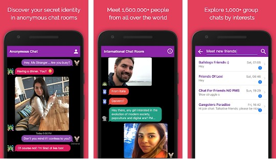 HIGHTECHHOLIC: App Review - Anonymous Chat Rooms for Teenagers and