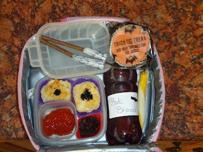 Bento Halloween Lunch