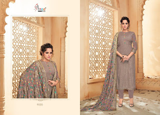 Shree Fab Mutiyar Vol 4 Viscos Upada Salwar Kameez Wholesaler