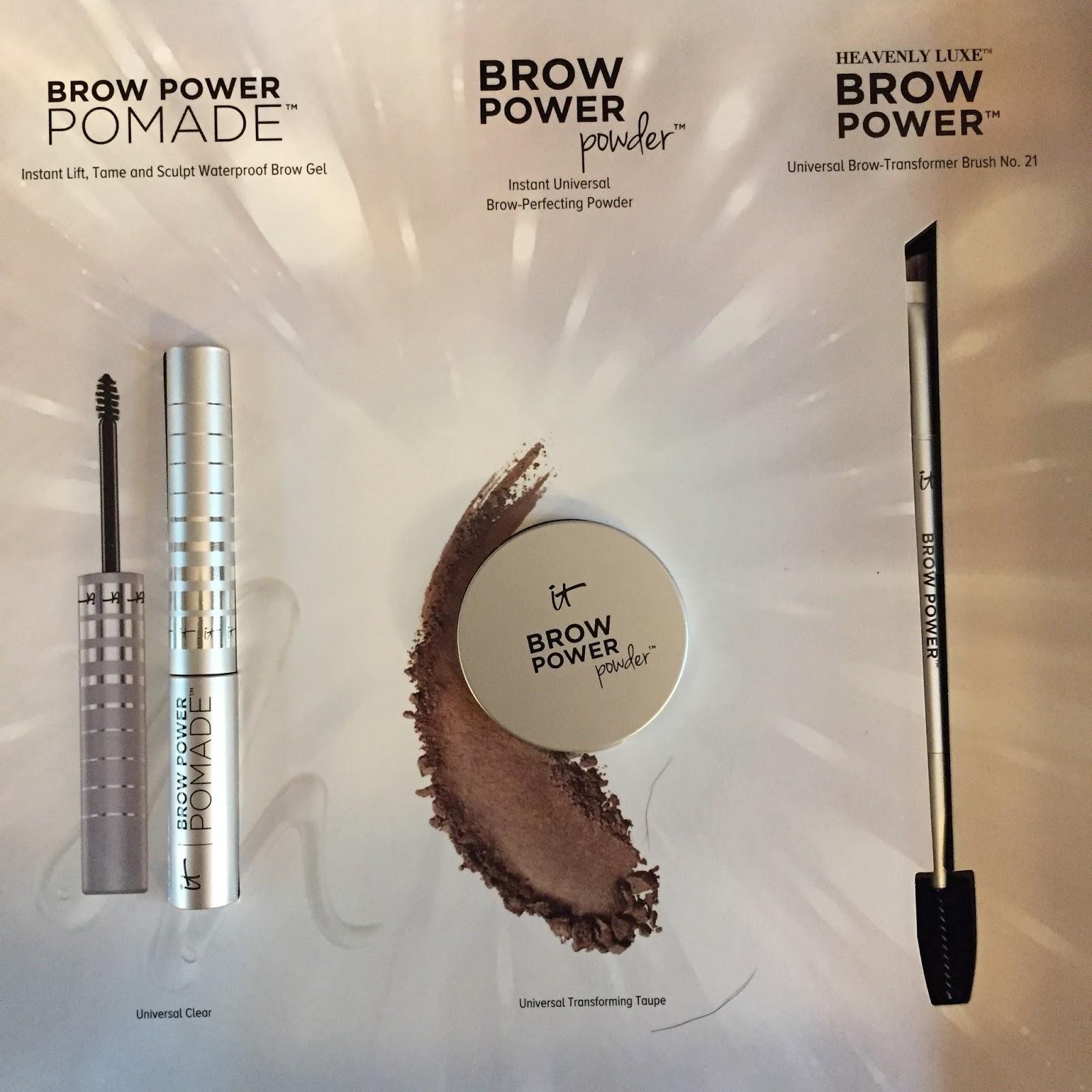 It Cosmetics Superhero Liner Brow Power Powder And Pomade Fall 17