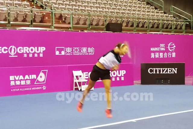 Usai Berlaga di Turnamen WTA, Aldila Sutjiadi Siap Bidik Trofi BNI Tennis Open 2019
