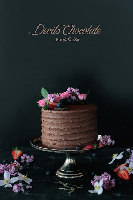 Devil's Chocolate Food Cake