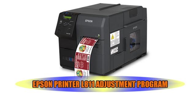 EPSON L811 PRINTER ADJUSTMENT PROGRAM