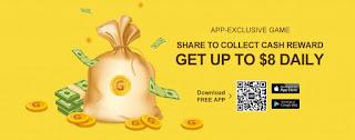 كوبون للحصول من 3 الى 8  دولار هدية  من تطبيق GearBest