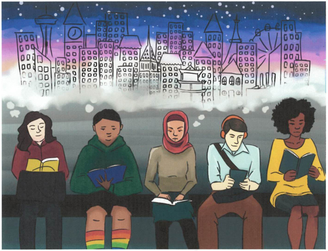 Announcing 2017 Teen Summer Reading Art Contest Winners!