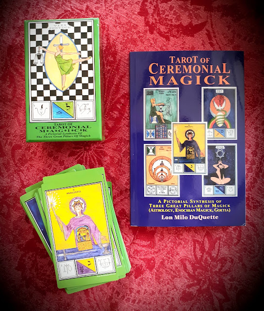 Tarot of Ceremonial Magick. Lon Milo DuQuette. Astrology, Enochian Magick and Goetia