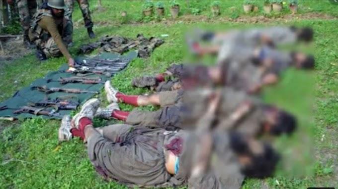Jammu Kashmir मैं सेना और आतंकियों के बीच मुठभेड़ 5 आतंकी ढेर |