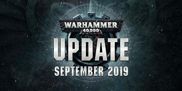 Actualización Warhammer 40,000 septiembre 2019
