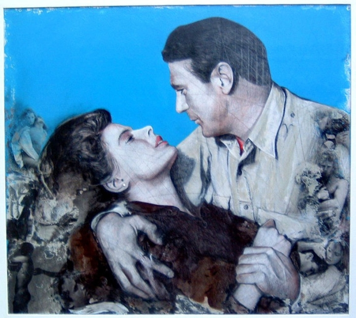 Gianni Bellini 1965 | Italian Figurative Mixed media painter
