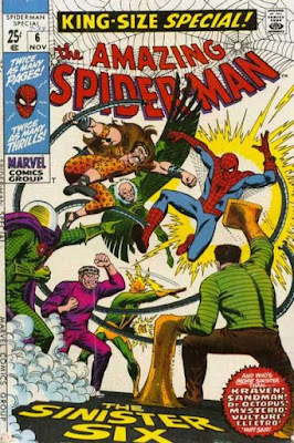 Amazing Spider-Man Annual #6, the Sinister Six