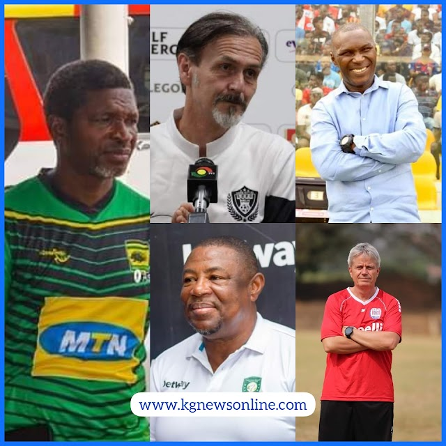 List Of Coaches Of All The 18 Ghana Premier League Teams. CHECK IT OUT