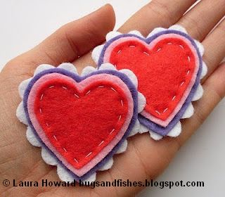 http://bugsandfishes.blogspot.com/2010/02/how-to-felt-heart-brooch.html