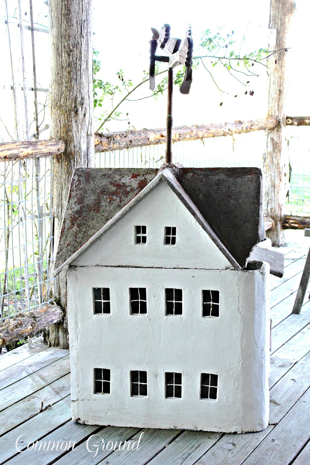 common ground : Repainting a Dollhouse