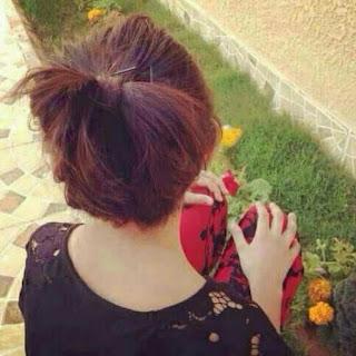 girl hair pic dp