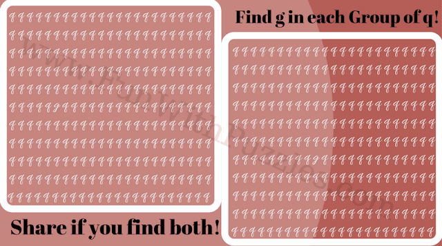 Can You Find Hidden 'g' Picture Puzzle