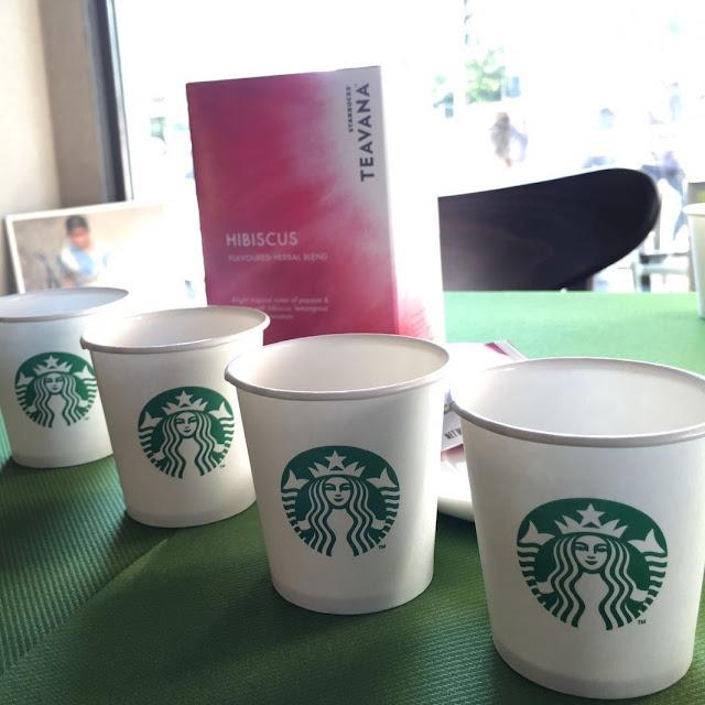 mit Strich und Faden: Starbucks Teavana Hibiscus