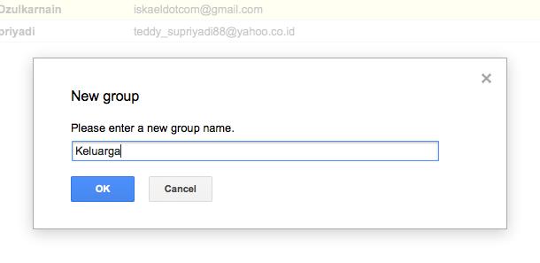 Cara Mudah Membuat Grup Email di Gmail