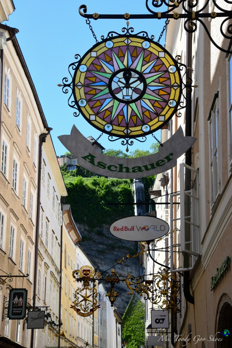Salzburg is one of many picturesque towns of Austria | Ms. Toody Goo Shoes #austria #danuberivercruise #Salzburg