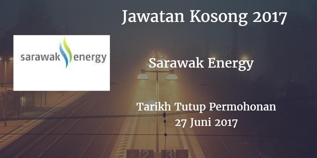 Jawatan Kosong Sarawak Energy 27 Juni 2017