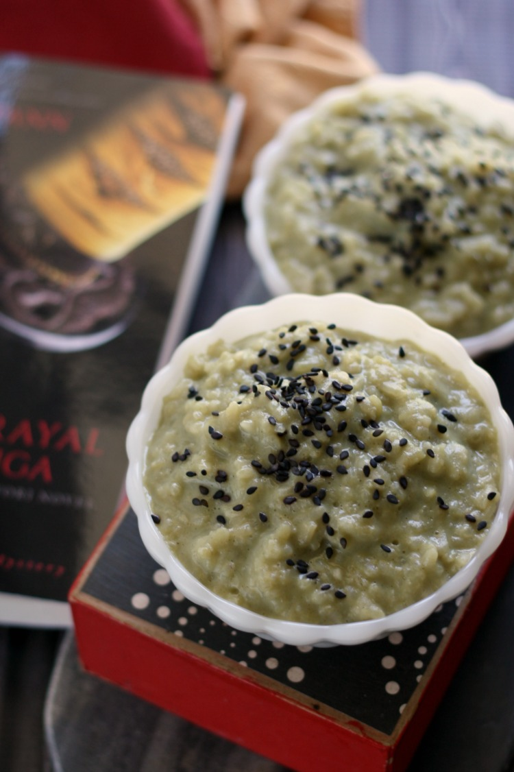 Matcha Rice Pudding | Betrayal at Iga