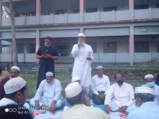 বয়রা ভেন্নাবাড়ী উচ্চ বিদ্যালয়ে মোহাম্মাদ নাসিমের স্বরণে আলোচনা সভা ও দোয়া অনুষ্ঠিত