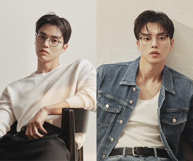 ator song kang usando oculos