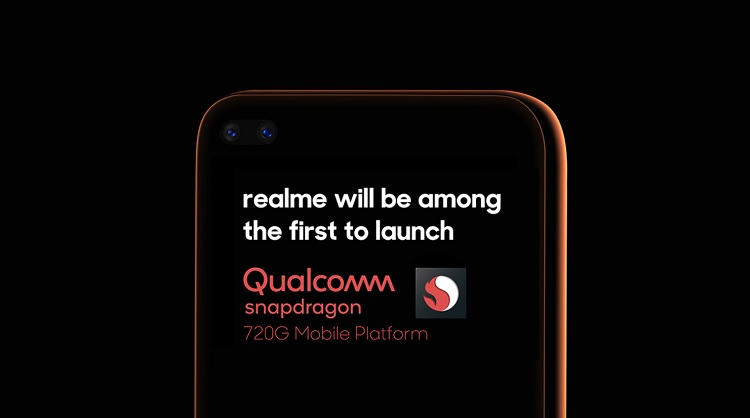 Realme to Launch a Smartphone with Snapdragon 720G