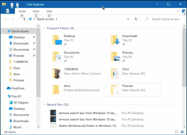 "How to Configure File Explorer to Launch to ""This PC"""